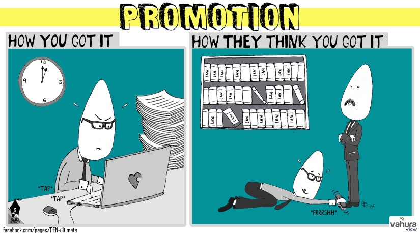 promotion comic