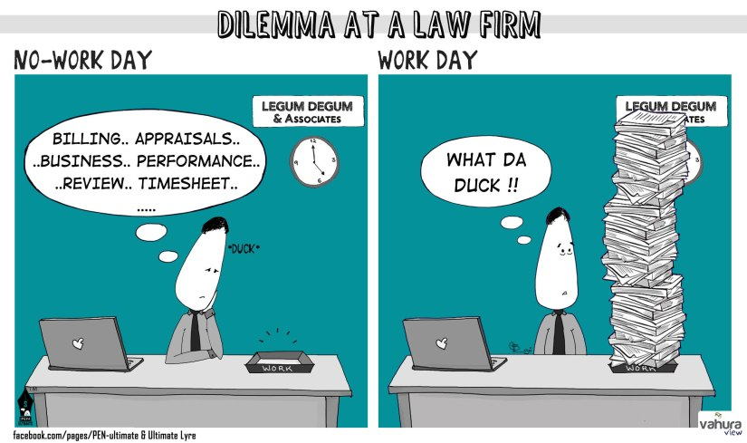 Dilemme at a law firm